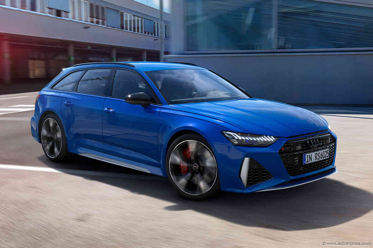 Audi launches 25th anniversary package for its RS models
