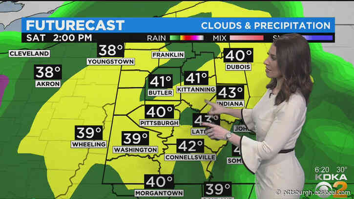 Pittsburgh Weather: Heavy Rains To Turn To Snow This Weekend