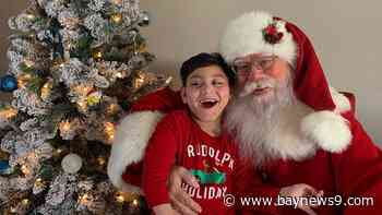 Santa Makes House Call for Young Boy with Special Needs