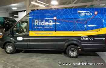Metro's Ride2 shuttle service to West Seattle water taxi and Eastgate Park-and-Ride to end this month