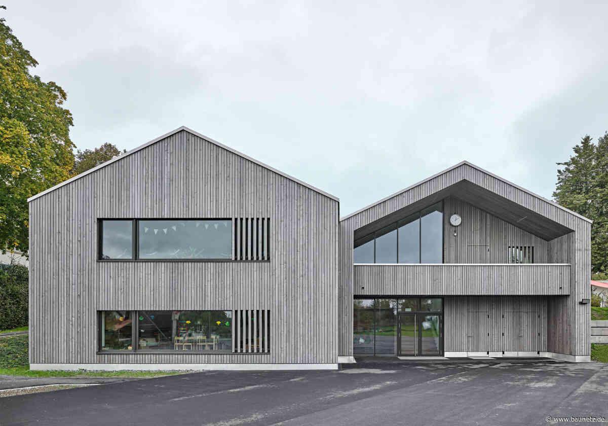 Doppeltes Hölzchen  - Kindergarten bei Zürich von illiz architektur