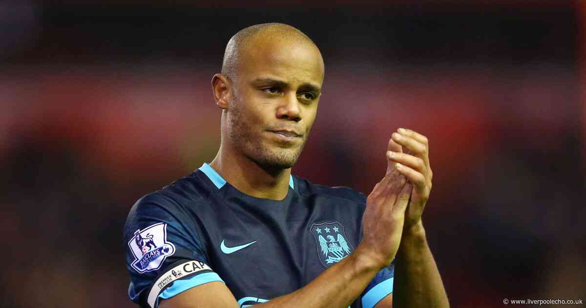 Former Man City captain Vincent Kompany makes interesting Liverpool admission
