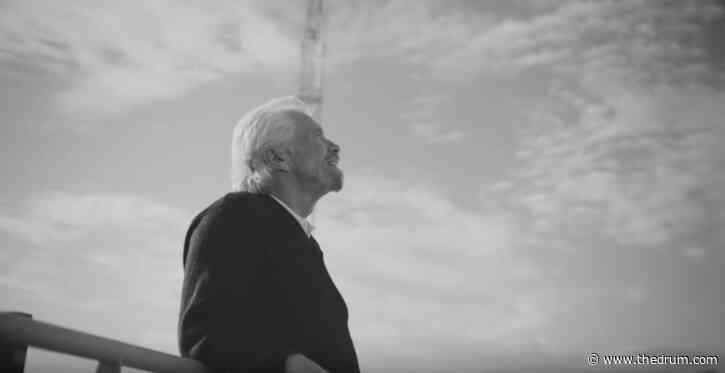 Sir Richard Branson stars in a cheeky scent ad for Virgin Voyages