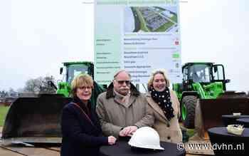 Onthulling bouwbord markeert start ontwikkeling woningbouw De Tip in Appingedam