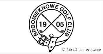 BROOMIEKNOWE GOLF CLUB: Head Chef