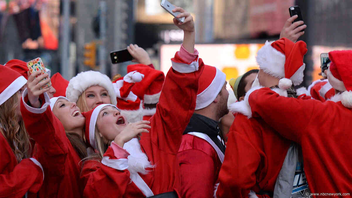 Santa Clauses (a Lot of Them) Are Coming to Town: What to Know About SantaCon NYC 2019