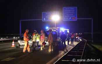 Ongeval knooppunt Zuidbroek: N33 afgesloten bij Meeden