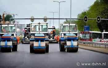 Zuidelijke ringweg van Groningen is gedeeltelijk dicht van vrijdagavond tot maandagochtend