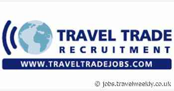 Travel Trade Recruitment: Operations and Sales Support Executive