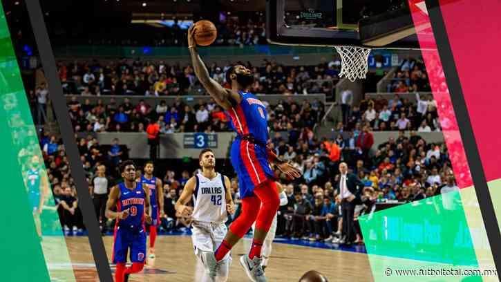 Mavs y Pistons dieron espectáculo en la CDMX