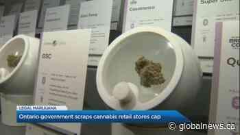 Ontario government scraps cannabis retail stores cap