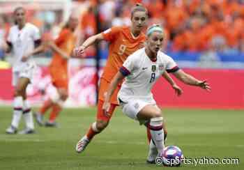 Julie Ertz named US Soccer women's player of the year