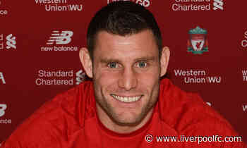 James Milner signs Liverpool FC contract extension
