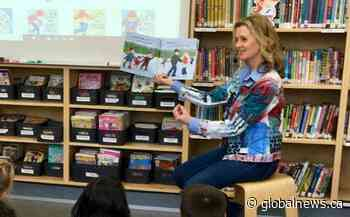 Former Winnipeg sportscaster teaches healthy lifestyle with children's book series