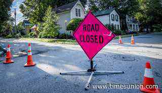 Burst pipe closes portion of 19th Street in Watervliet