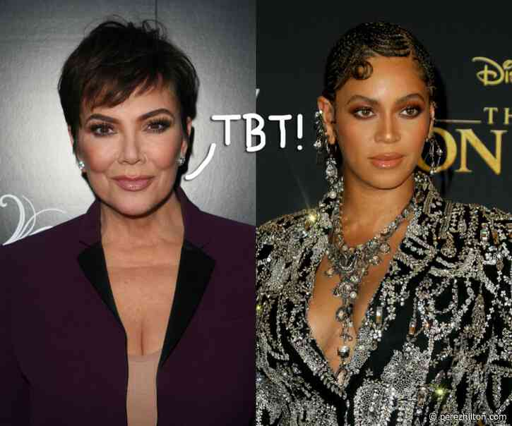 Did Kris Jenner Interview Beyoncé Back In The 90s?! The Internet Thinks So!!
