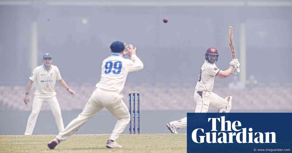 Morrison's smoke and mirrors can't hide cricket's place in climate crisis