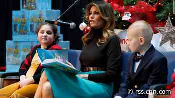 Cyberbullying crusader Melania Trump silent on her husband's mocking of 16-year-old Thunberg