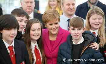 Scottish independence vote a 'democratic right', says Sturgeon