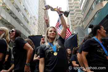 Ertz named U.S. Soccer's female player of the year