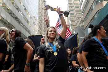Ertz named U.S. Soccer's female player of the year