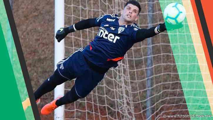 Sao Paulo quiere pagar a Tiago Volpi en abonos
