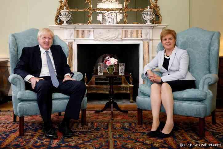 UK's Johnson says no to Sturgeon's Scottish referendum demand