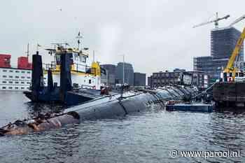 Noord zwaait NDSM-onderzeeboot uit: 'De Foxtrot hoort bij dit stadsdeel'