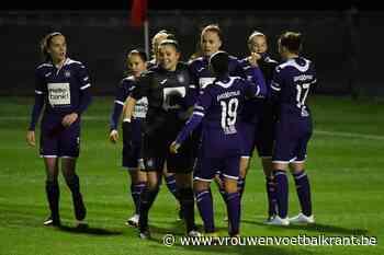 Anderlecht veegt vloer aan met KRC Genk Ladies in Super League