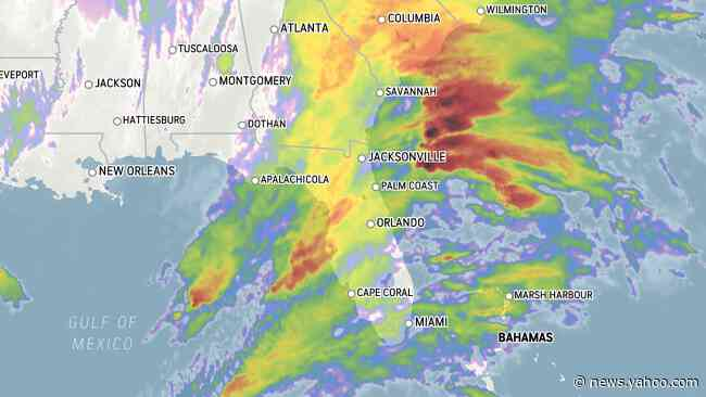 Heavy, gusty storms to rattle Florida, Georgia into Friday night