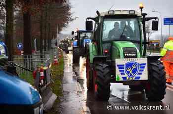 Twee boerenprotesten, twee gezichten: in Brabant is het grimmig, in Amsterdam gemoedelijk