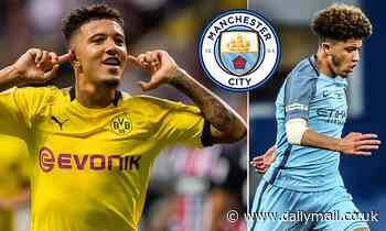 Manchester City plot move to re-sign Jadon Sancho and beat Liverpool and Man United