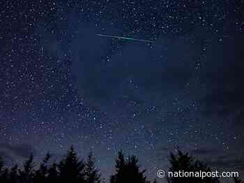 Annual Geminid meteor shower lights up Canadian skies this weekend