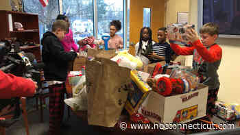 Hamden 5th Graders Collect Donations For Kids in Need