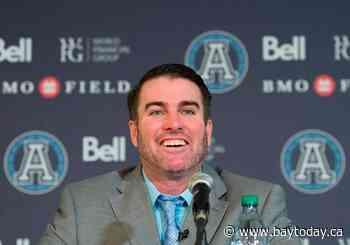 New head coach Ryan Dinwiddie tasked with making Argos winners again