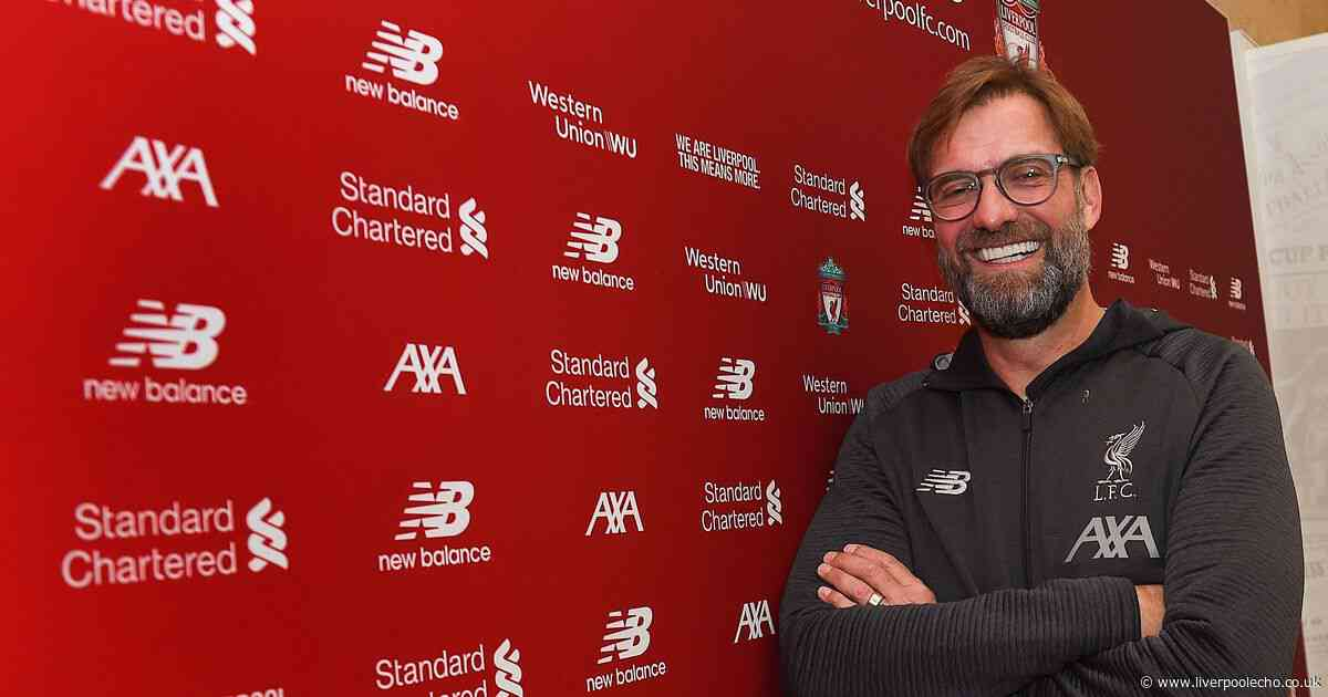 Jurgen Klopp set for inevitable Liverpool rebuild after signing new contract