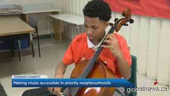 Toronto program making music accessible in priority neighbourhoods