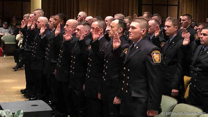 Pittsburgh Bureau Of Fire Welcomes 31 New Recruits