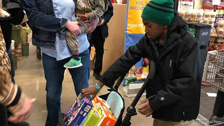7-Year-Old Jackson Fowler Donates Birthday Presents To Toy Drive