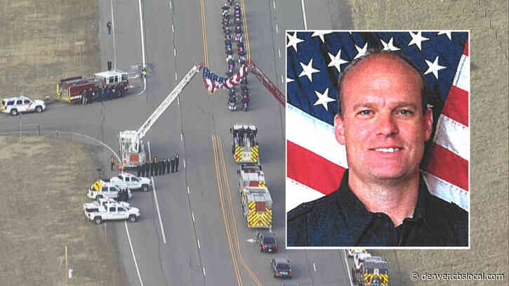 Community Honors Fallen Firefighter Ken Jones During Procession