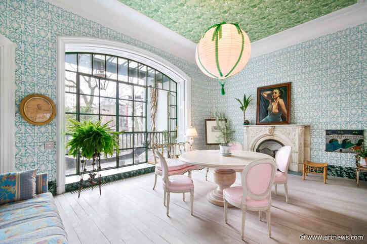 View an $18.5 M. New York Townhouse Designed by JulianSchnabel