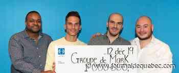 Quatre amis d'enfance remportent 1 million $