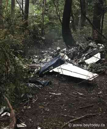 Two men, one woman killed in plane crash on Gabriola Island, B.C.: coroner
