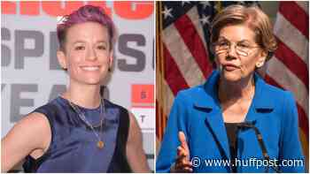 Megan Rapinoe Endorses Elizabeth Warren In 2020 Presidential Race