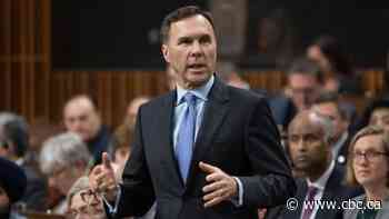 Morneau to release fall economic and fiscal update next week