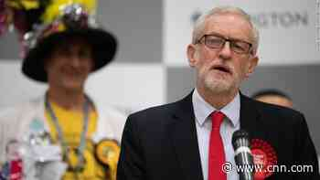 Labour party leader refuses to leave after huge defeat