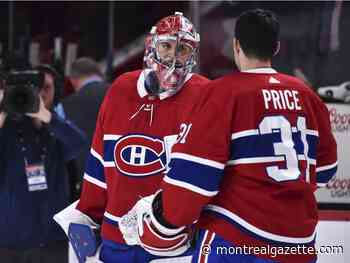 Canadiens' Carey Price becoming like a big brother to Cayden Primeau