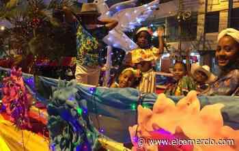 Con un pregón se encendieron las fiestas navideñas en Esmeraldas