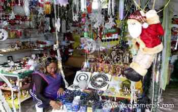 Comerciantes de productos navideños aseguran que las ventas todavía son bajas en Quito