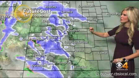 Denver Weather: Heavy Snow Piling Up In Mountains